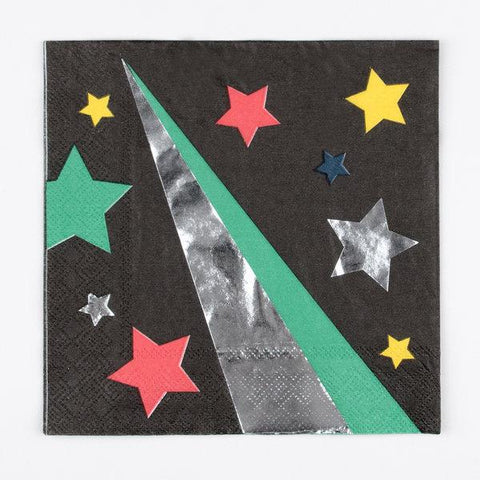 My Little Day - Disco Stars Napkins