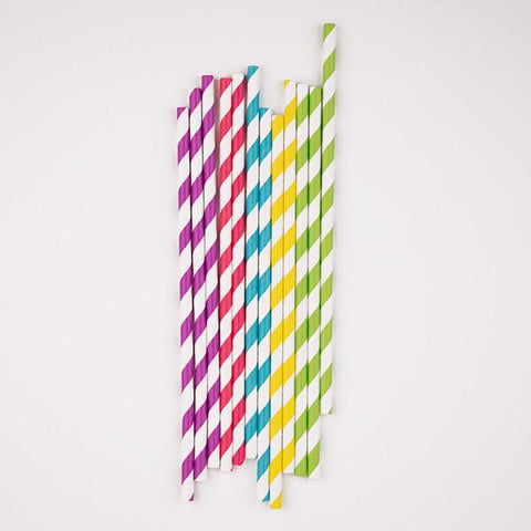 My Little Day - Multicolour Straws