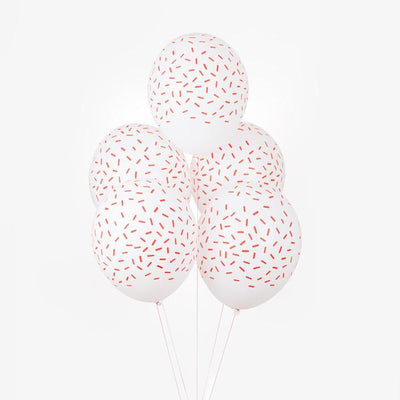 My Little Day - Red Sprinkles Balloons