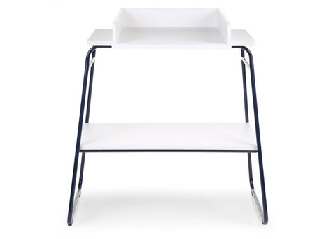 Childhome - IRONWOOD WHITE/NAVY CHANGING TABLE WIDE