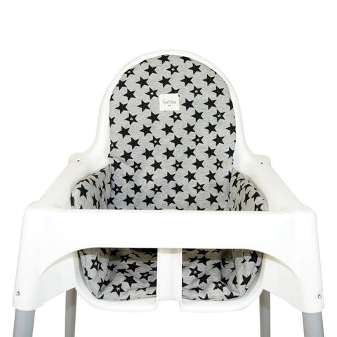 Fundas - Cover for high chair Ikea ® fun Black Star