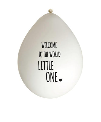 Huusje - Balloon Welcome To The World Little One