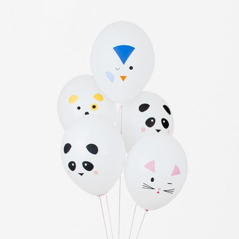 My Little Day 5 Balloons Mini Animals