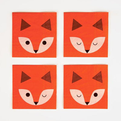 My Little Day - Mini Fox Napkins