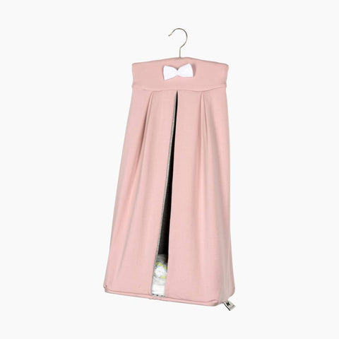 House of Jamie - Diaper stacker Powder Pink + Stone
