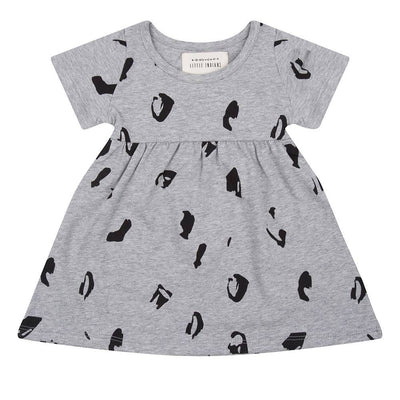 Little Indians - Dress Animal Grey Melange
