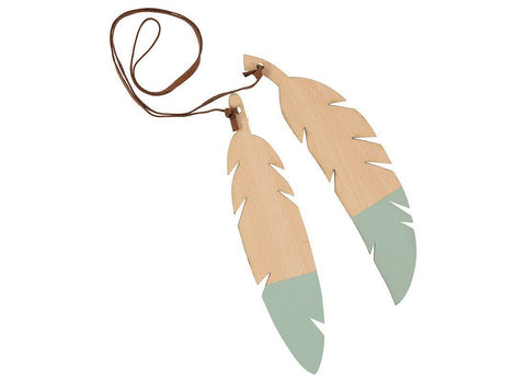 Nobodinoz Feathers duo green