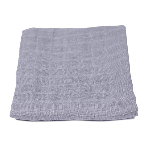 Filibabba - Muslin GOTS Medium Grey