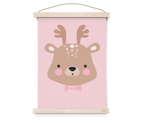 Eef Lillemor - Poster Forrest Animals Ms. Deer