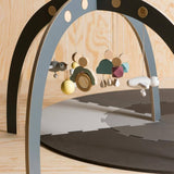 Sebra Play Mat Grey
