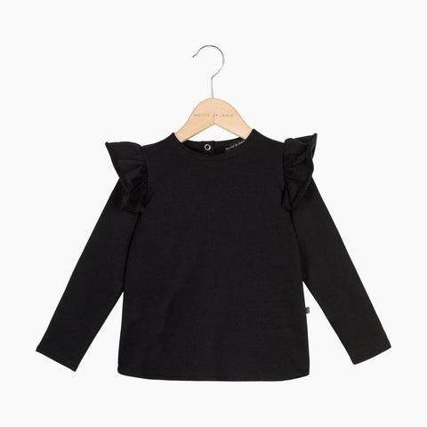 House of Jamie - Girls Sweater Black