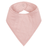 House Of Jamie - Burp Bib Geometry Jacquards Powder Pink