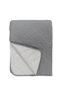 Mister Fly - QUILT Reversible Charcoal/Grey
