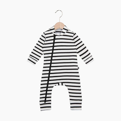 House of Jamie - Hoody Zip Jumpsuit Breton