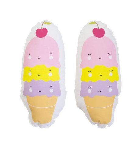 A Little Lovely Company - Little Cushion Ice Cream Cone