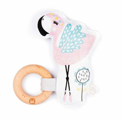 Kippins - Rattle Kiplet Coco Flamingo