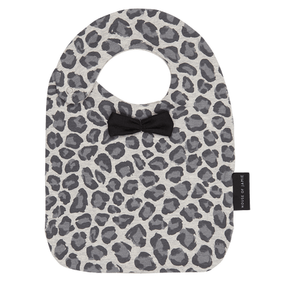 House Of Jamie - Bow Tie Bib Rocky Leopard