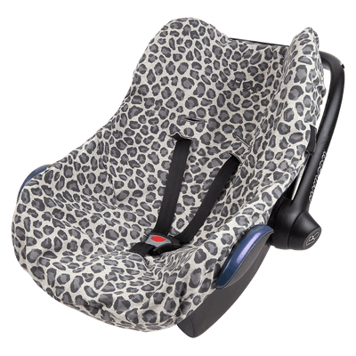 House Of Jamie - Car Seat Cover Rocky Leopard and Stone