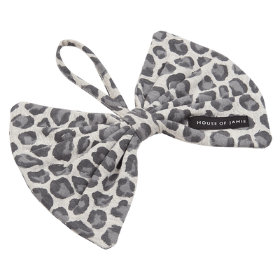 House Of Jamie - Pacifier Cord Bow Tie Rocky Leopard