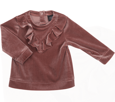 Petit Sofie Schnoor - Blouse Velour Old Rose