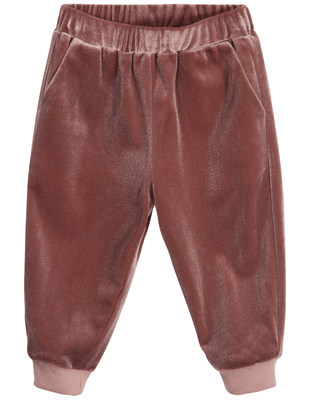 Petit Sofie Schnoor - Pants Velour Old Rose