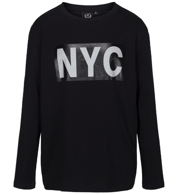 Petit Sofie Schnoor - T-Shirt Long Sleeve NYC Black