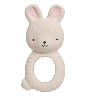 A Little Lovely Company - Teething Ring Bunny