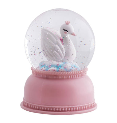 A Little Lovely Company - Snowglobe Light Swan