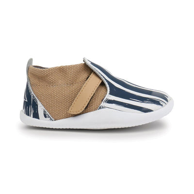 Bobux - Step Up Play Xplorer Paint White Navy