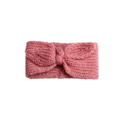 Cos I Said So - Headband Bow Crochet Pink