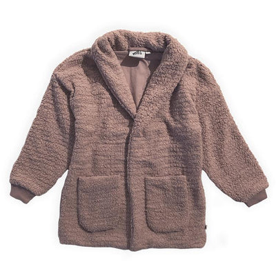 Cos I Said So - Long Coat Teddy Bouclé Fawn