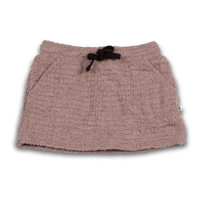 Cos I Said So - Mini Skirt Teddy Bouclé Fawn