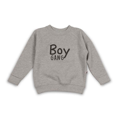 Cos I Said So - Sweater Boy Gang Heather Grey