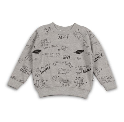 Cos I Said So - Sweater Follow The Call Of The Disco Ball Heather Grey