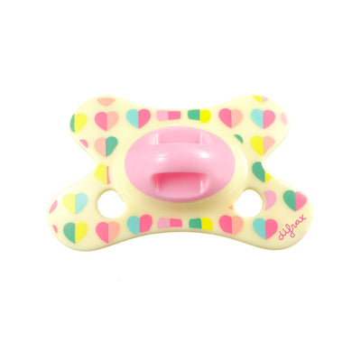 Difrax - Pacifier Natural 0-6 Months Sweetheart