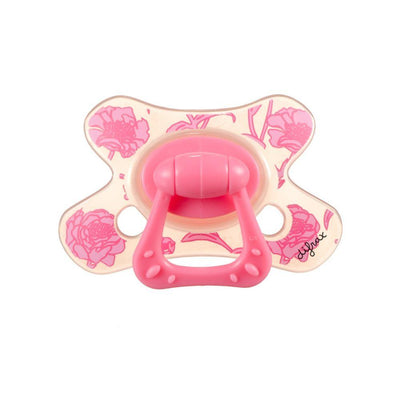 Difrax - Pacifier Natural 6+ Months Rose