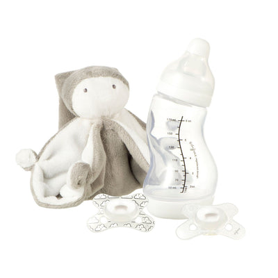 Difrax - Gift Set S-Baby Bottle Natural