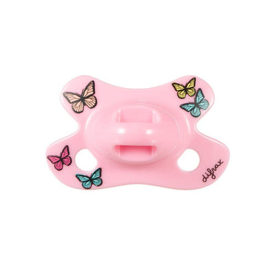 Difrax - Pacifier Natural Newborn Joy Butterfly