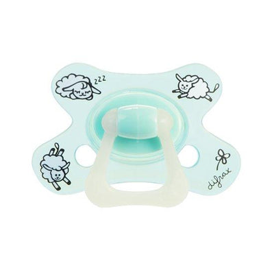 Difrax - Pacifier Natural 12+ Months Sheepy Timo (Glow)