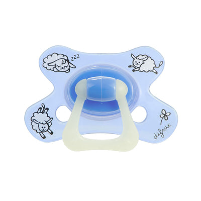Difrax - Pacifier Dental 6+ Months Sheepy Baba (Glow)