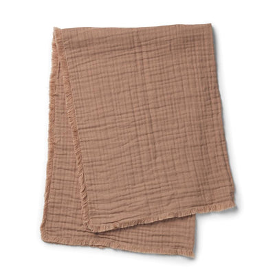 Elodie Details - Soft Cotton Blanket Faded Rose