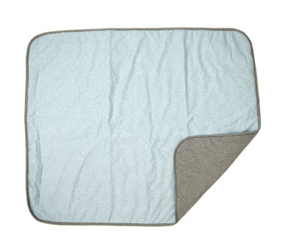Fundas - Padded Baby Blanket Blue Safari