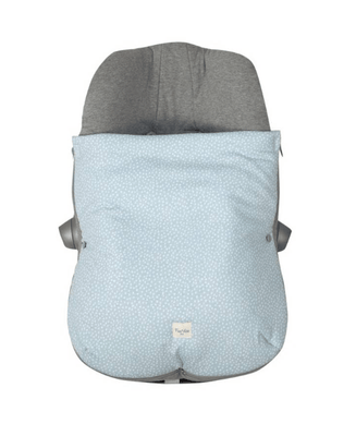 Fundas - Footmuff For Car Seat Group 0 Blue Safari