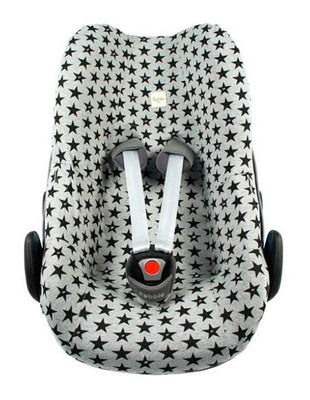 Fundas - Car seat cover MaxiCosi PEBBLE Fun Black Star