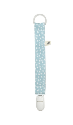 Fundas - Pacifier Holder Blue Safari