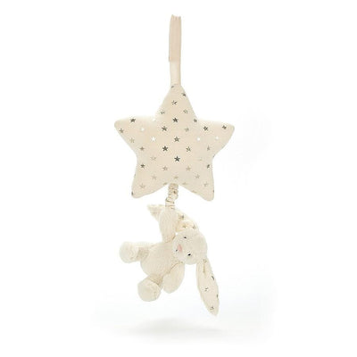 Jellycat - Bashful Twinkle Bunny Star Musical Pull