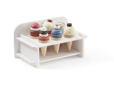 Kids Concept - Ice Cream With Rack