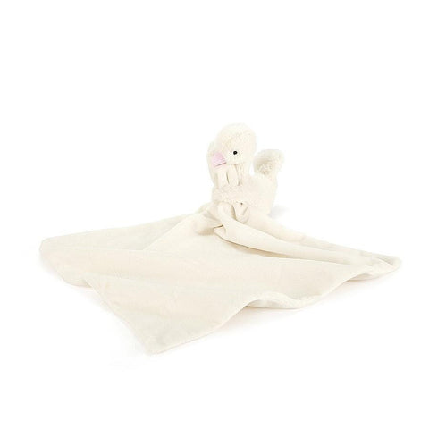Jellycat - Syllabub Swan Pink Soother