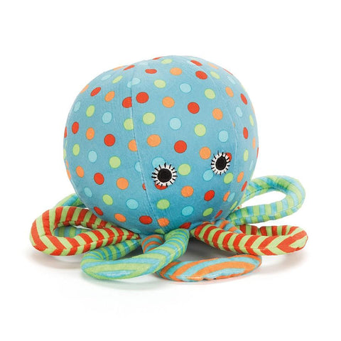 Jellycat - Under The Sea Octopus Rattle