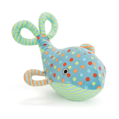 Jellycat - Under The Sea Whale Rattle
